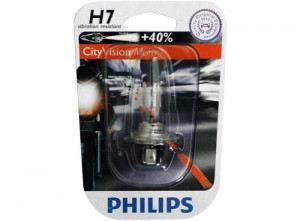 Ampoule Philips City Vision Moto H7 12V / 55W