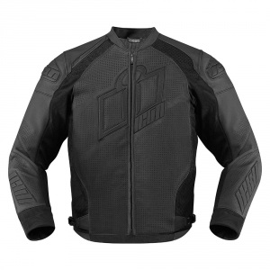 Blouson Moto Cuir Icon Hypersport Prime