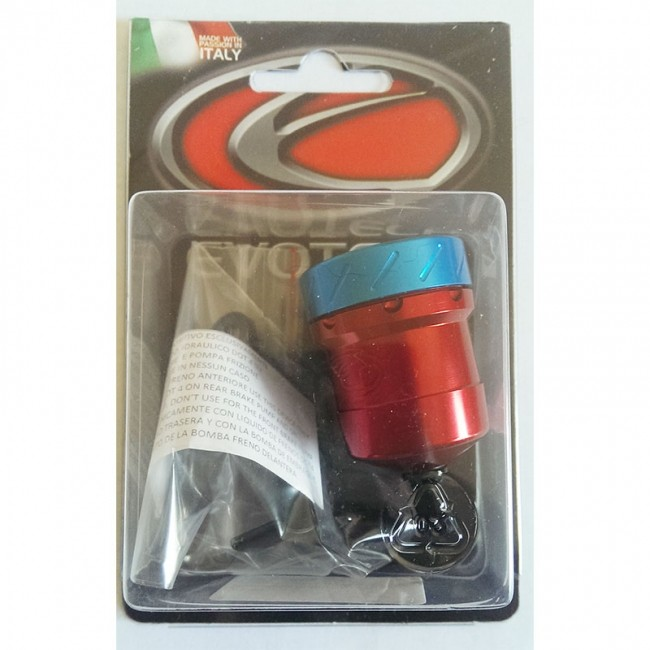 bocal liquide de frein embrayage evotech rouge bleu destock freinage accessoires ma tre. Black Bedroom Furniture Sets. Home Design Ideas