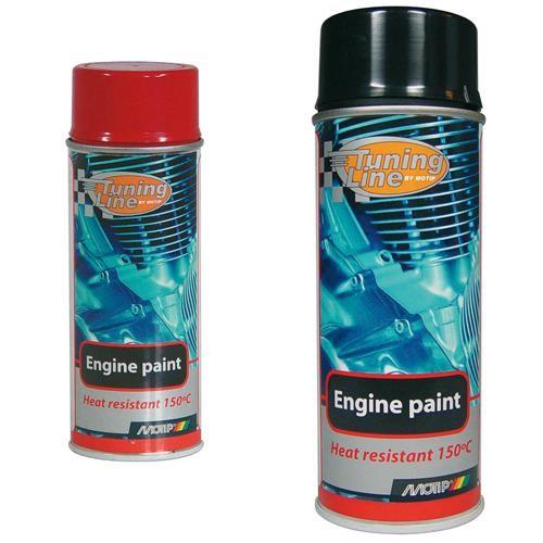 Bombe de peinture pour moteur motip for Bombe de peinture pour radiateur