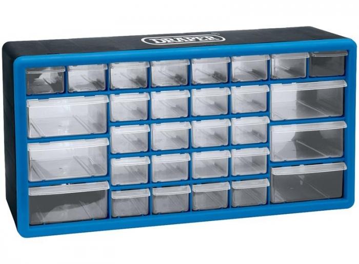acheter casier de rangement 30 tiroirs draper. Black Bedroom Furniture Sets. Home Design Ideas