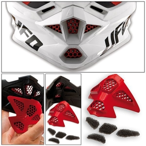 Casque Cross Ufo Interceptor II Red Devil