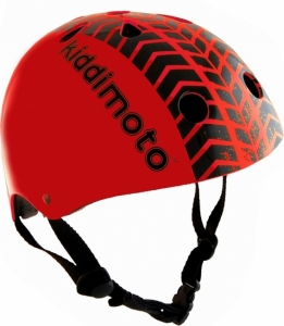 Casque Enfant Kiddimoto Red Tyre