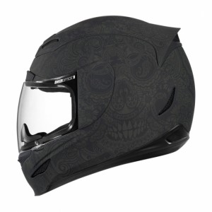 Casque Icon Airmada Chantilly Noir Mat
