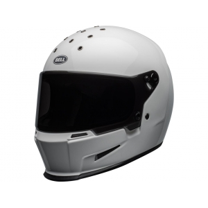 Casque Moto BELL ELIMINATOR Blanc Brillant