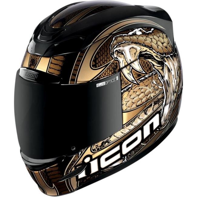 Acheter Casque Moto Icon Airmada Charm Or 2xl