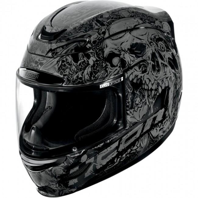 acheter casque moto icon airmada parahuman equipement moto au meilleur prix. Black Bedroom Furniture Sets. Home Design Ideas
