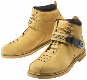 Chaussures moto Icon Superduty 4 Beige Taille 45