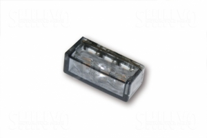 Clignotant moto Led Cube Horizontal 3Led