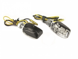 Clignotants moto LED Shell Universels