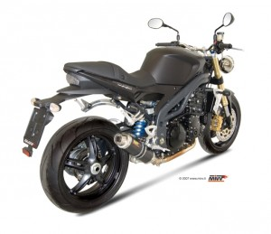 Echappement moto Speed Triple 1050 07-10 Mivv GP