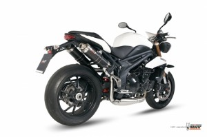 Echappement moto Speed Triple 1050 2011 Mivv GP