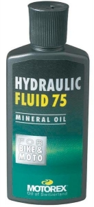 Fluide de transmission MOTOREX Hydraulic Fluid 75 100ml