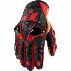 Gants Icon Hypersport Pro Court Rouge