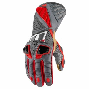 Gants Icon Hypersport Pro Rouge