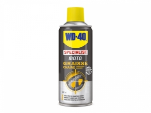 "Graisse de chaîne WD-40 Moto  ""conditions humides""400ml"