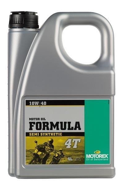 acheter huile moto formula 4temps semi synthetic 10w 40 motorex lubrifiant moto au meilleur prix