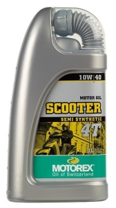 Huile Scooter 4T Semi Synthetic 10W40 Motorex 1L