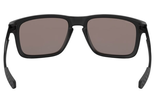 4953460610b8ff Lunette de soleil OAKLEY Holbrook Valentino Rossi Signature Series Matte  Black verres PRIZM Black Polarized