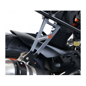 Patte de fixation de silencieux RG noir KTM 1290 Super Duke GT