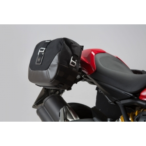 Sacoches Latérales Moto et Support SW Motech Ducati Monster 821 / 1200 (14-).