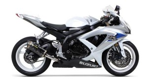 Silencieux GSX-R 600/750 08-10 Two Brothers