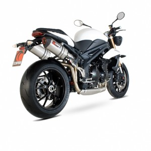 Silencieux Scorpion Red Power Speed Triple 1050 2011