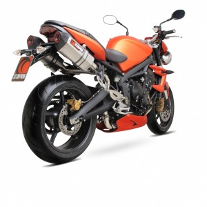 Silencieux Scorpion Red Power Street Triple 08-12